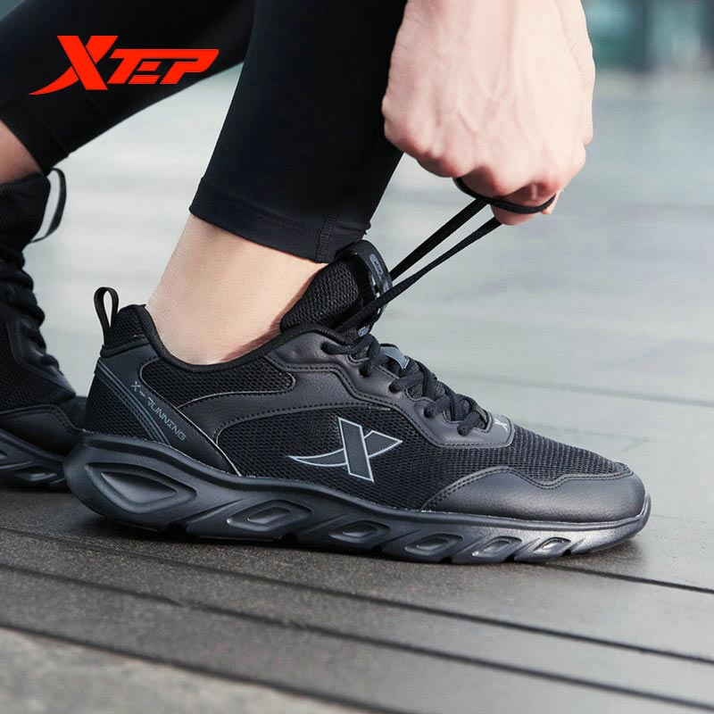 Xtep Summer Men Running Shoes Shock Absorption Sports Sneakers Comfortable Casual Breathable Shoes Male 880119115036