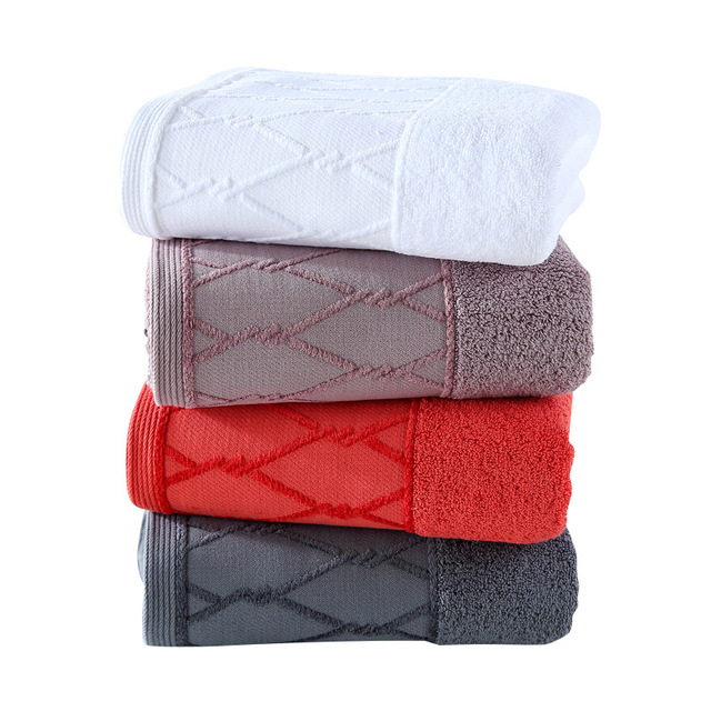 Cotton Bath Towel 70*140cm 450g Adult Large Towel Pure Cotton Towel Japanese Towel
