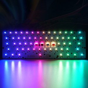 Image 5 - GK64 GK64x GK64xs RGB Hot Swap Programmable Bluetooth Wired Case PCB Plate Cherry MX Keyboard DIY kit Replacable Space