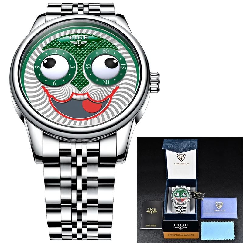 Top Luxury Automatic  Men's Clock  Wristwatch. 6