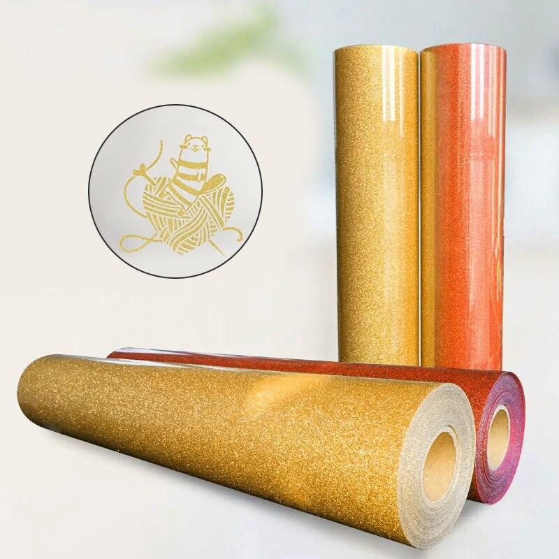 1pcs Glitter A4 Picture Light Color Iron On Paper Heat Transfer Paper Inkjet Printers Diy T-Shirt Print Paper Fabrics Cloth