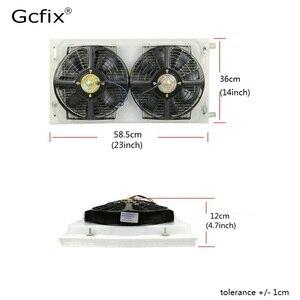 Image 3 - Kit de ventilación de aire acondicionado Universal AC para camión, furgoneta, Tractor, Jeep Street / Hot Rod, aire acondicionado de coche Vintage