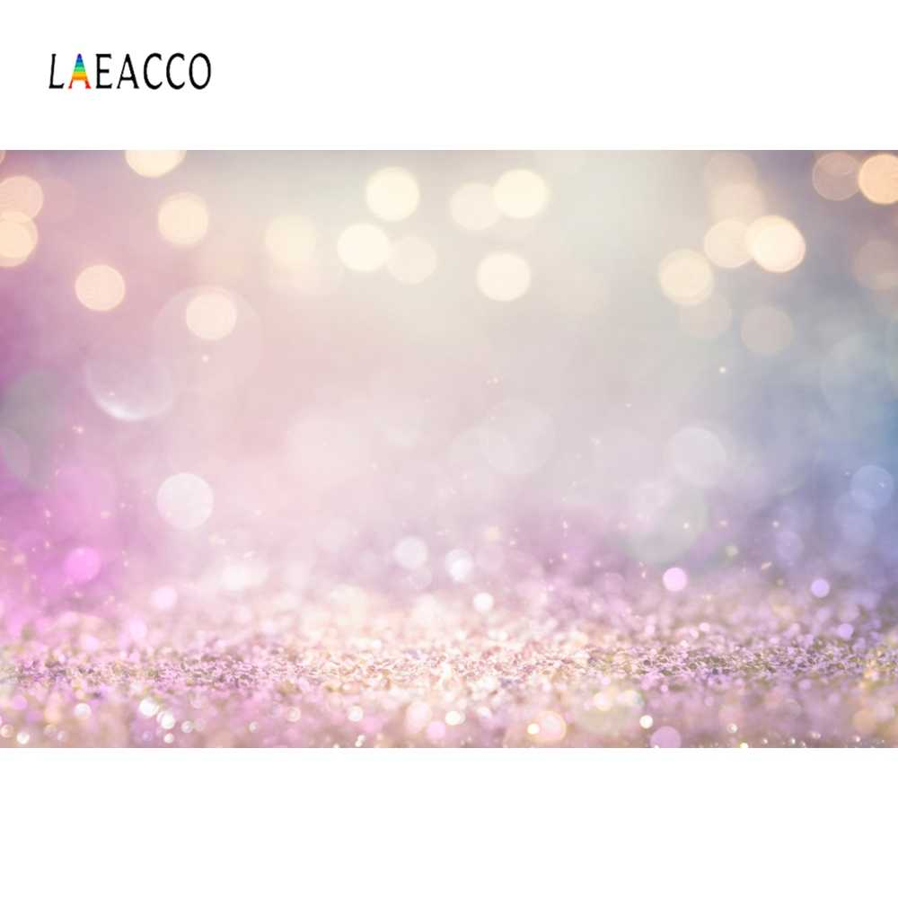 Laeacco Dreamlike Light Bokeh Glitter Portrait Photography Background Scene Baby Children Photographic Backdrop For Photo Studio