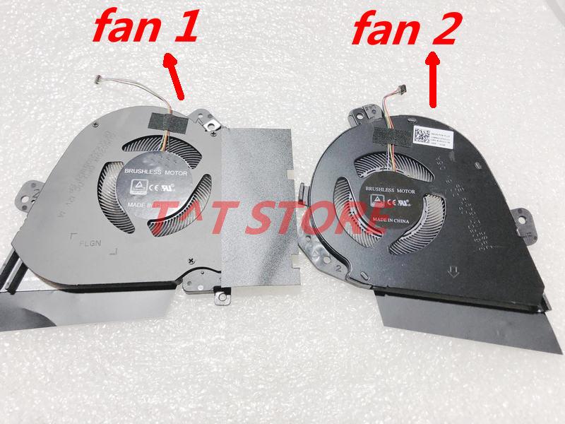 New Original For Asus ROG Zephyrus GU502 GU502GW Laptop CPU GPU Cooling Fan DFS200912210T FLG9 DFSCK221051821 FLGN DC12V 1A