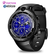 "Zeblaze THOR 4 DUAL 4G Smart Watch1GB RAM 16GB ROM 530mAh 5MP + 5MP Dualกล้อง 1.4 ""AMOLED SmartWatchผู้ชาย [ฟรีTWSหูฟัง]"