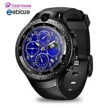 "Zeblaze THOR 4 Dual 4G Smart Watch1GB RAM 16GB ROM 530mAh 5MP+5MP Dual Camera 1.4"" AMOLED SmartWatch Men [Free TWS Earphones]"