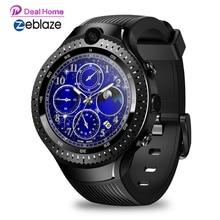 "Zeblaze Thor 4 Dual 4G Smart Watch1GB Ram 16 Gb Rom 530 Mah 5MP + 5MP Dual Camera 1.4 ""Amoled Smartwatch Mannen [Gratis Tws Oortelefoon]"