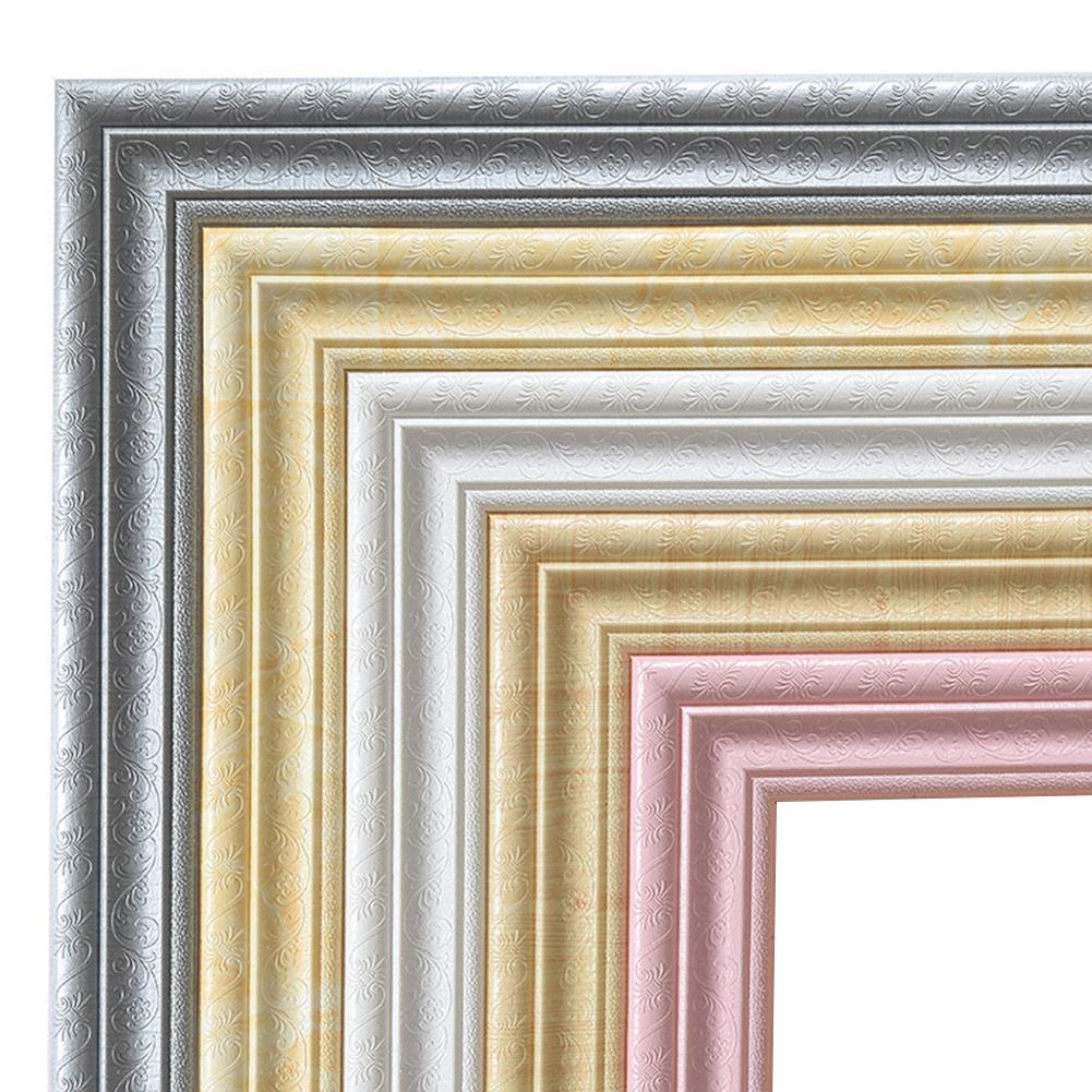 3D Self-adhesive Wall Stickers Baseboard Wallpaper Art Waterproof Decor 1Pcs