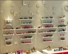 Шкаф для демонстрации ногтей железная полка лак Пластиковая