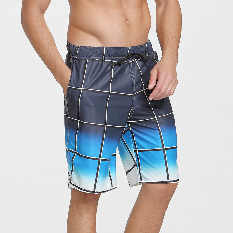 Sbart Beach Shorts Men's Quick-Dry Loose-Fit Shorts Casual Large Size Swimming Trunks Seaside Holiday Couples Shorts