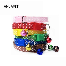 Cat-Collar Kota-Print Necklaces Supply Bell Breakaway Cute For Cats with Chihuahua Gatto