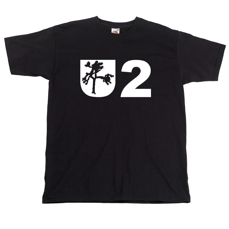 Футболка U2, футболка с принтом шушуа и дерева U2 Tribute