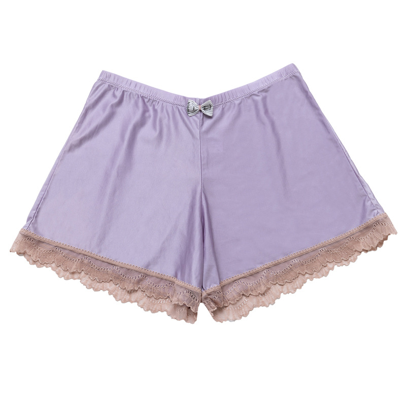 LXS22 Summer Thin Section Loose Lace Home Wild Casual Shorts