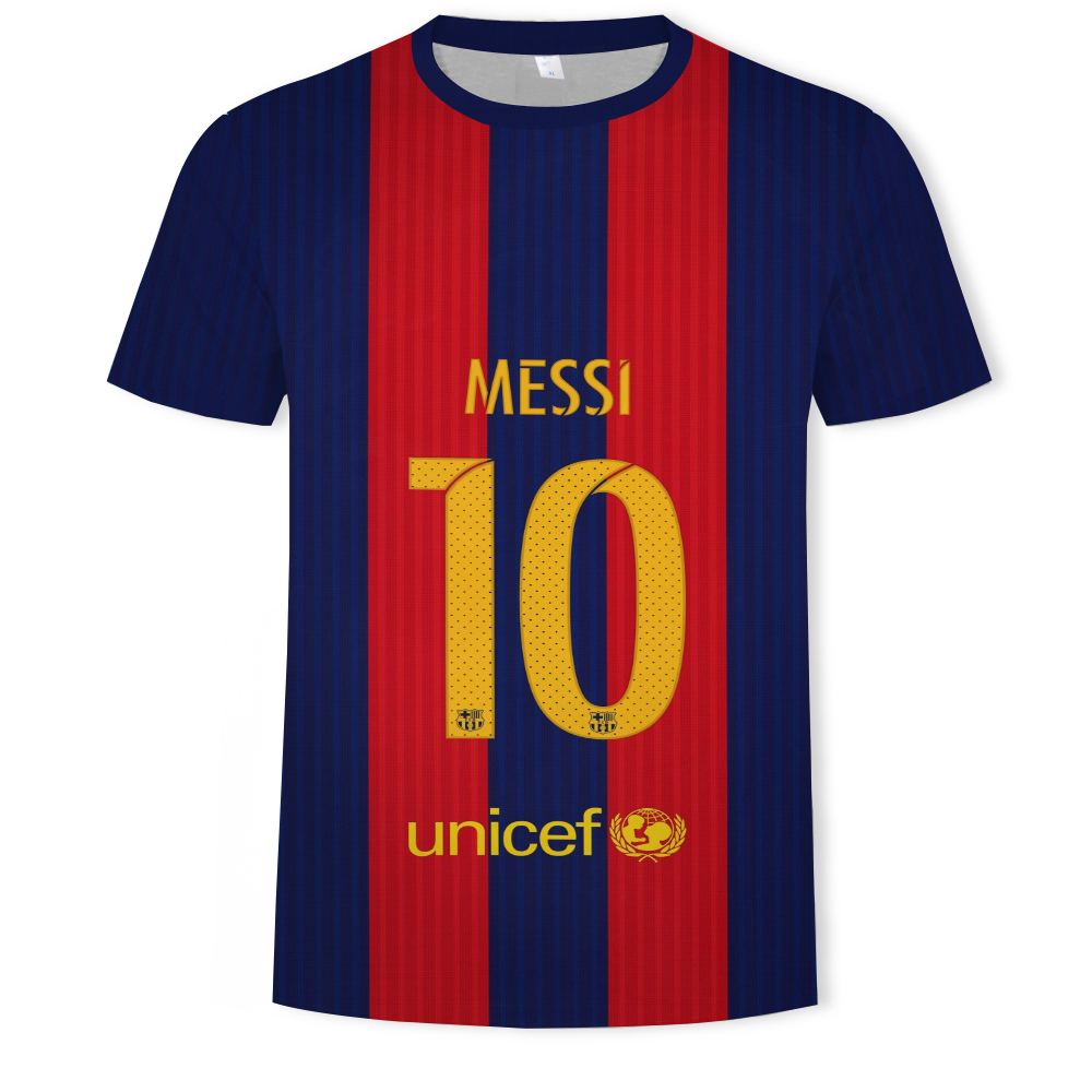 2019 No. 10 jersey Messi Camiseta Fashion Men's Clothing   T     Shirt   S-5XL Barcelona Home Away Third Tops Jersey
