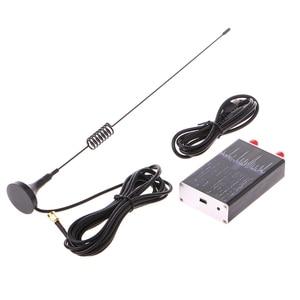Image 2 - 100KHz 1.7GHz מלא להקת UV HF RTL SDR USB טיונר מקלט R820T + 8232U רדיו חם