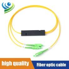 SC/FC/LC/ST Singlemode Fiber Optic Splitter Fiber 1310/1550nm FBT1X2 Box Type Fiber Splitter