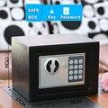 Сейф, Маленький Домашний Мини стальной Сейф с паролем/ключом, сейф для денег, ювелирных изделий, денег, банка, праздничный подарок