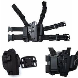 Étui de pistolet de cuisse de jambe de baisse de devoir tactique de CQC de Style de FS pour SIG SAUER P226 P228 P229