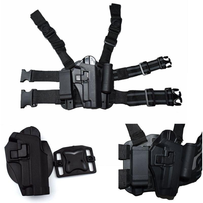 FS Style CQC Tactical Duty Drop Leg Thigh Gun Holster For SIG SAUER P226 P228 P229
