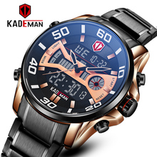 Watches Mens 2020 New Sports Digital Watch for Men Quartz Wristwatches Automatic Date Casual Male Clock Black Steel Watch Gift original fashion weide watch mens sport watch men digital quartz led week day date watch silicone band wristwatches clock gift