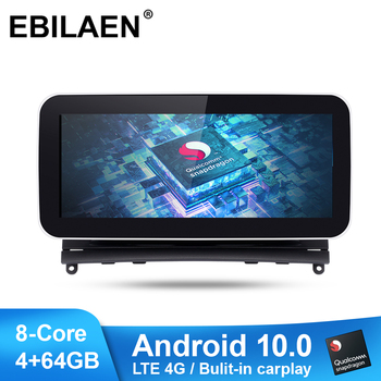 Qualcomm Snapdragon Car Radio Multimedia Player for Mercedes Benz C Class W204 S204 2007-2010 Android 10.0 Autoradio Navigation image