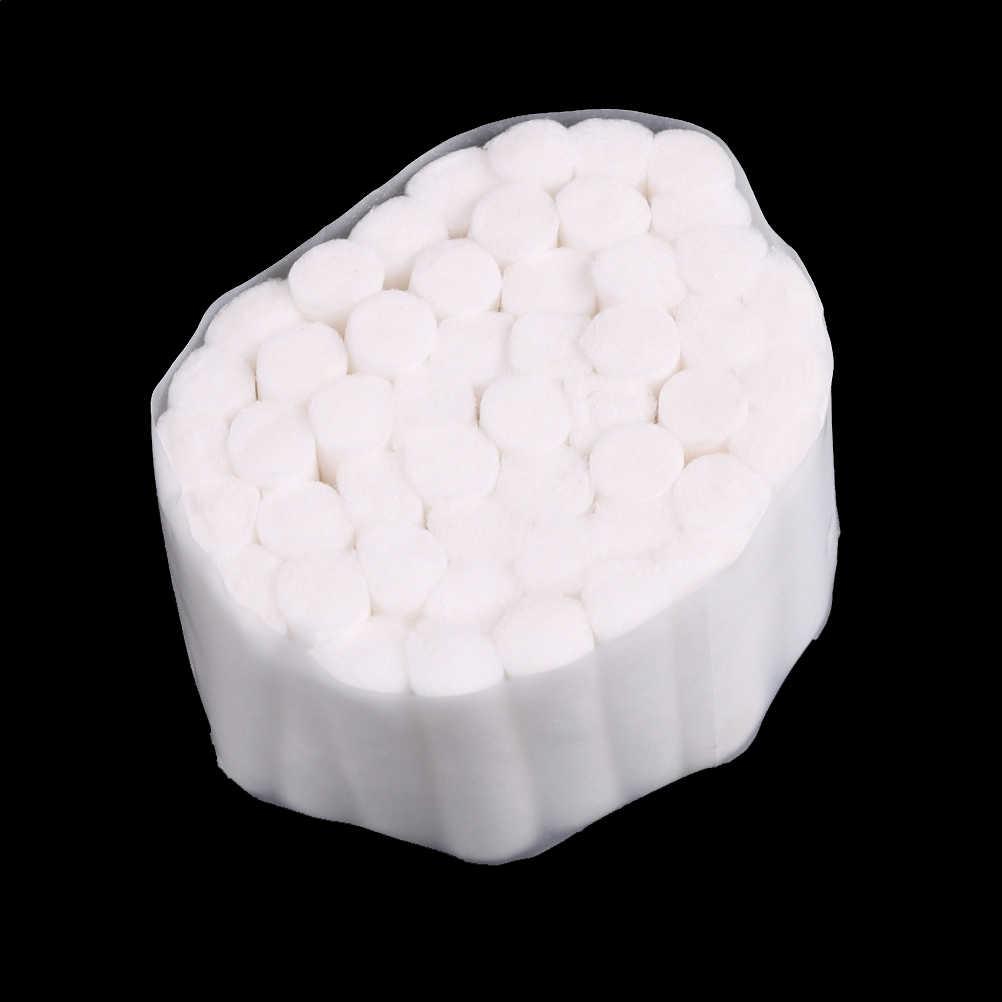 50 Cái/lốc Cotton Dùng Một Lần Nha Khoa CuộN Thấm Hút Cao Thấm Hút Sợi Mềm CuộN Nha Sĩ Tiếp Liệu 10*38 Mm