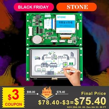 цена на 3 Year Warranty! 4.3 inch HMI Panel 480*272 with RS232/ RS485/ TTL MCU Interface