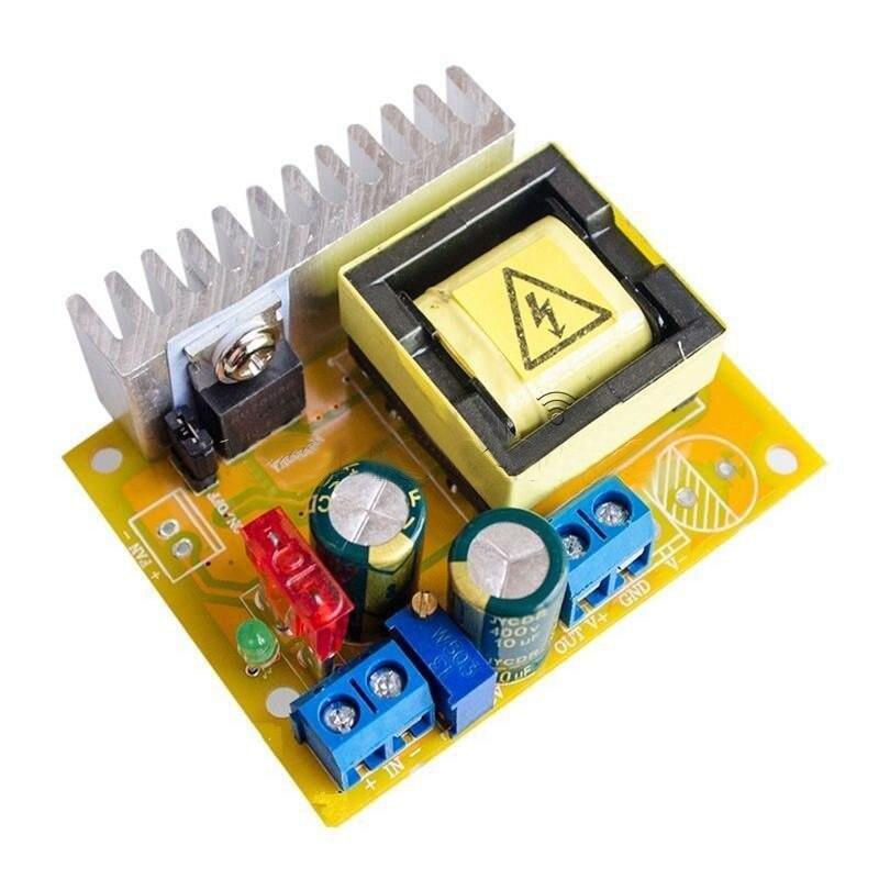 Верхняя модель, повышающий преобразователь высокого напряжения от 8 до 32 В до 45 ~ 390 в, модуль повышающего усилителя ZVS
