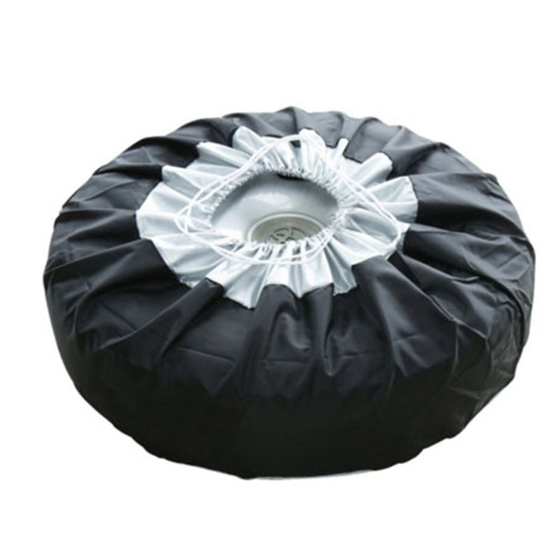 Anti-Spillage-Spare-Tire-Cover Universal-Version 13-20-Inch 4-Pie Applicable Trade Foreign