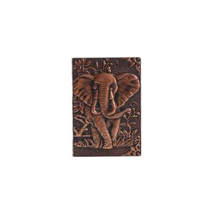 3D Elephant Embossed Notebook