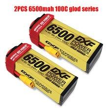 DXF Battery Lipo 2S 3S 4S 7.4V 11.1V 14.8V 8400Mah 7000Mah 6500Mah 6700mah 9300Mah 5200Mah 50C 60C 100C 120C 130C For Rc Car