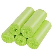 Мешки для мусора биоразлагаемые, 4-6 галлонов маленькие мешки для мусора компостированные мешки сильные мешки для мусора Мусорные Корзины Вкладыши мешки для кухни