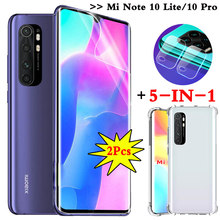 5-in-1 hidrogel, hydrogel film mi note10 lite xiaomi 10 pro screen protector redmi note 10 lite case mi 10pro ฟิล์มกล้อง xiomi note10 pro เคสโทรศัพท์ mi note 10pro xaomi mi10 note-10lite(China)