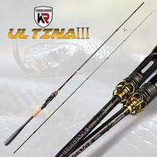 KYORIM 2 Sections Ultralight Biatcasting Spinning Rod Cane L/ML/M/MH Power Fast Action Lure Fishing Tackle For Bass Pike  Trout