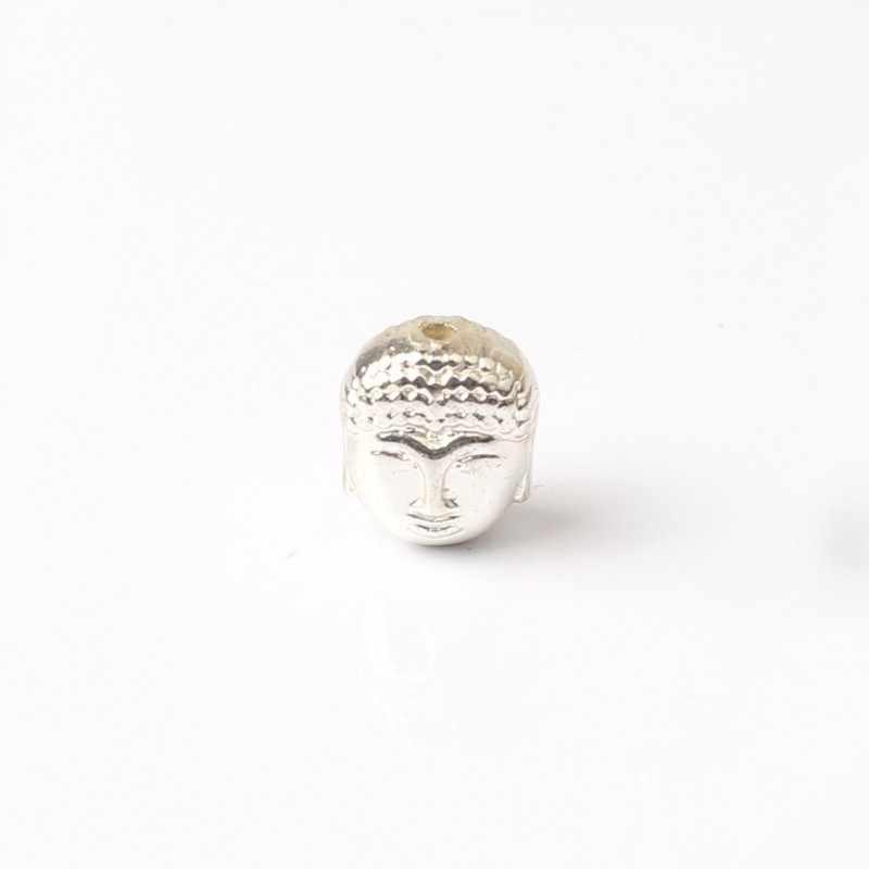 ธรรมชาติ 10pcs ทิเบตเงิน Rose Gold Hematite หัว Spacer ลูกปัดหลวมสำหรับเครื่องประดับทำสร้อยข้อมือ DIY 10X8*7 มม.