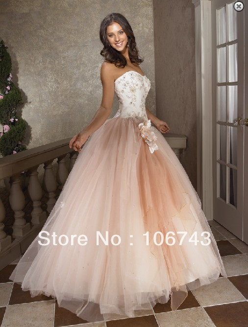 Free Shipping 2018 Hot Sale Sexy Brides Sweetheart Princess Flowers Beading Custom Bridal Gown Mother Of The Bride Dresses