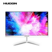 HUGON 24 inç kavisli 75Hz VGA oyun monitörü PC LCD/TFT bilgisayar ekranı ekran tam Hdd