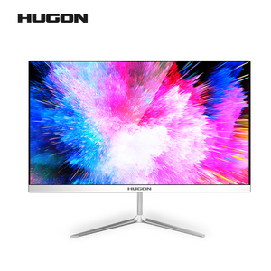 HUGON 24 inch Curved 75Hz HDMI/VGA Gaming Monitor PC LCD/TFT Computer Display Screen Full Hdd