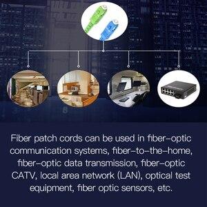 Image 3 - Ponticello 3m 10m 30m della fibra ottica del cavo di toppa della fibra ottica monomodale dello SC APC UPC SM 2.0 o di 3.0mm 9/125um FTTH
