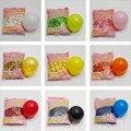5-дюймовый круглый воздушный шар матовый имитирующий косметический шарик украшение для свадебного торжества лопающийся маленький воздушн...