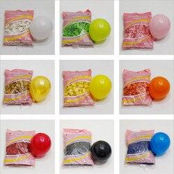Balões redondos de aniversário de casamento, 50 peças 5 Polegada hélio látex decoração de chá de bebê aniversário