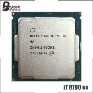 Image 1 - Intel Core i7 8700 es i7 8700 es i7 8700es QN8H 2.9 GHz Six Core Twelve Thread CPU Processor 12M 65W LGA 1151