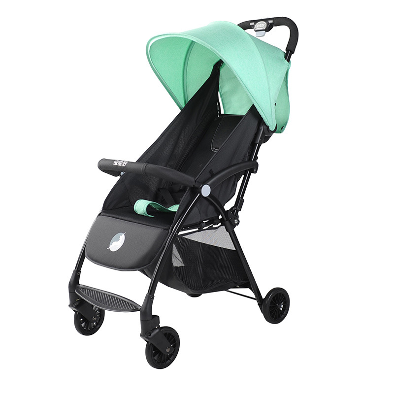 Ultra-light Portable Folding Baby Stroller Can Sit Reclining High Landscape Infant Travel Cart Can Be on The Plane