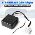 Adaptateur de câble stéréo pour Mazda 6 M6 M3   bluetooth  câble AUX  musique stéréo pour voiture 6 M6 M3 Pentium B70