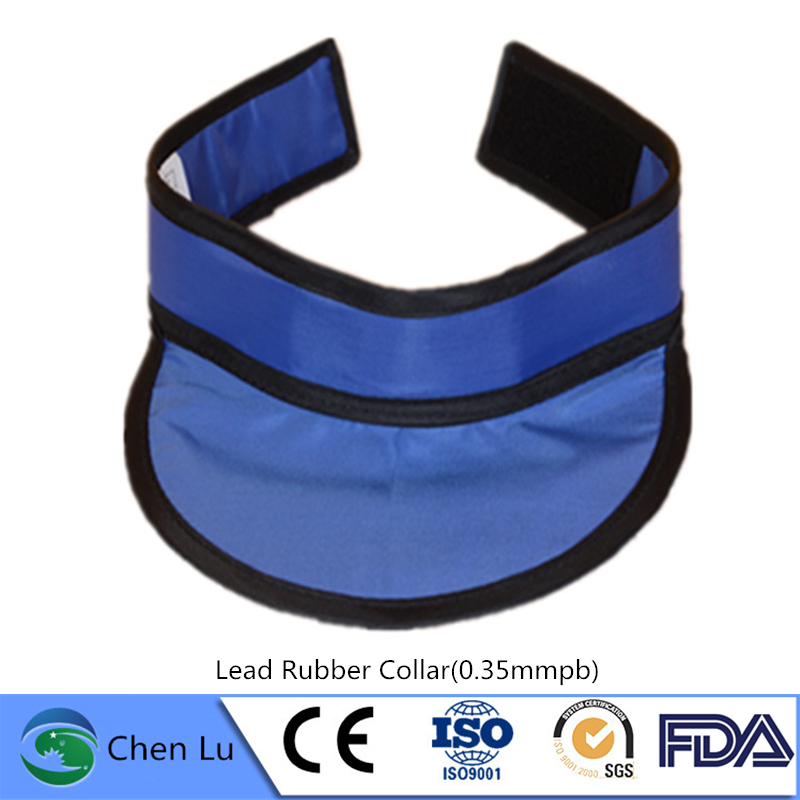 Adult Use Medical Radiological Protection Thyroid Collar X-ray Machine Nuclear Radiation Protective 0.35mmpb Lead Rubber Collar