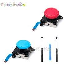 4 farben 1set Schraubendreher werkzeuge 3D Joystick Flex Kabel Links Rechts Analog Sticks für Nintend Schalter Lite NS Freude Con Controller