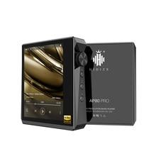 Hidizs-REPRODUCTOR de música portátil AP80 PRO, Dual ESS9218P, Bluetooth, HiFi, MP3, USB, DAC, DSD128, apt-x/LDAC, 2,5/3,5mm de salida, pantalla táctil
