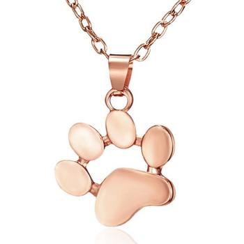 Dog Paw Footprint Necklace 6