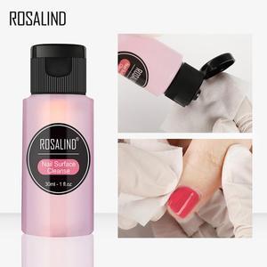 ROSALIND Nail Gel Polish Remover Soak Off Gel Polish Remover Fast Degreaser UV Gel Varnish Acrylic Nail Polish Cleaner TSLM1