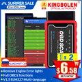 ELM327 V1.5 PIC18F25K80 Чип Wifi/Bluetooth OBD2 считыватель кодов V1.5 WIFI ELM327 OBDII диагностический инструмент для Android/IOS PK ICAR 2